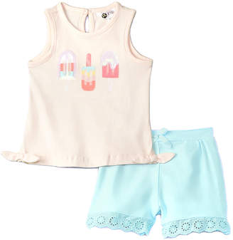 Petit Lem 2Pc Short Set