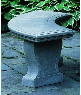 Campania International Palladio Cast Stone Garden Bench