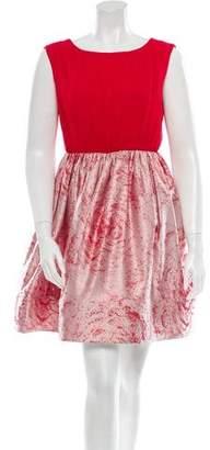 Alice + Olivia Silk Dress