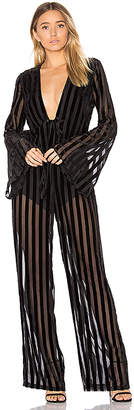 House of Harlow 1960 x REVOLVE Pam Jumpsuit in Black $220 thestylecure.com