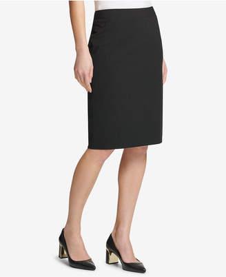 DKNY Ponte Pencil Skirt