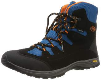 Bruetting Unisex Adults' Salado Snow Boots Black Schwarz/Petrol/Orange 7 UK