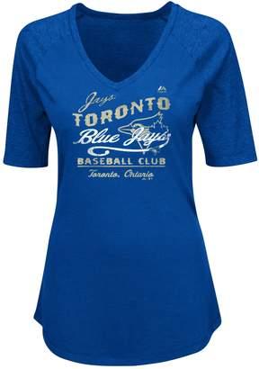 Majestic Toronto Blue Jays Ladies' Keep It Versus Tee - M