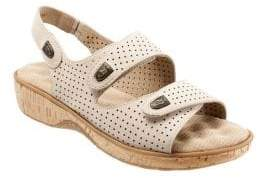 SoftWalk Bolivia Nubuck Leather Sandals