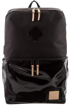 The Shrine Shrine Sneaker Daypack - Smoked Translucent/Black