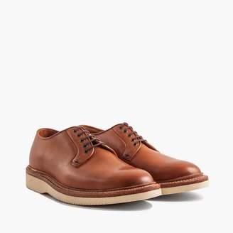 J.Crew Grant Stone® plain-toe saddle tan veg cavity wedge sole derbies