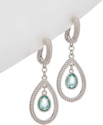 Judith Ripka Classic Silver Hoops
