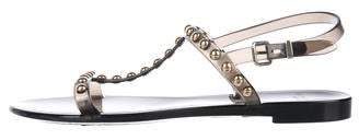 Givenchy PVC Studded Sandals