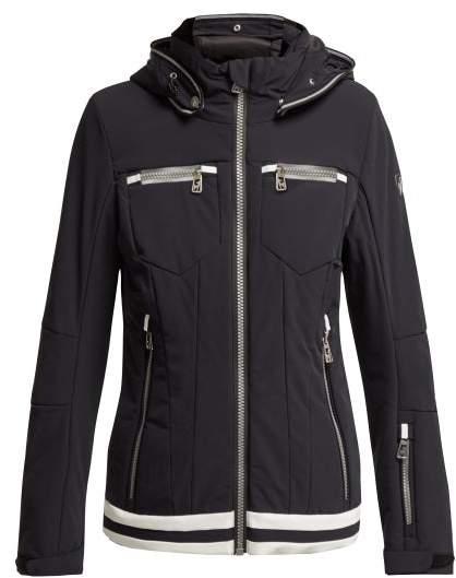 Toni Sailer - Sadie Reflective Stripe Ski Jacket - Womens - Black