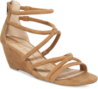 American Rag Calla Demi Wedge Sandals, Created for Macy's Women's Shoes $59.50 thestylecure.com