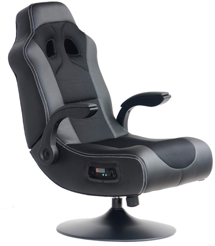 X-Rocker Exclusive 2.1 Bluetooth Audio Pedestal Chair