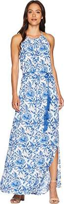 Karen Kane Women's Halter Maxi Dress