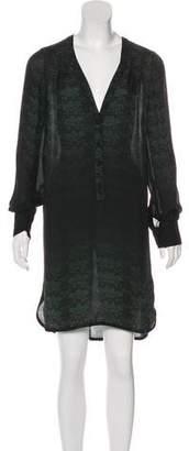 A.L.C. Knee-Length Silk Dress