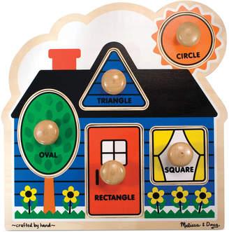 Melissa & Doug Kids Toy, First Shapes Jumbo Knob Puzzle