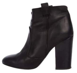 Laurence Dacade Patent Leather Round-Toe Booties looking for amazon for sale PhV8utT
