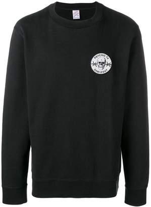 Yang Li logo patch sweater