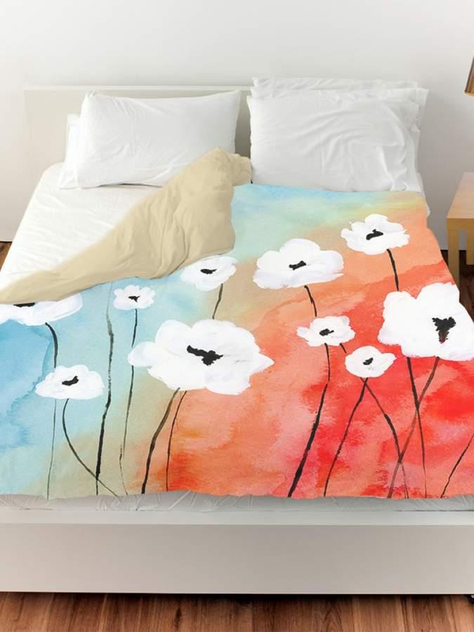 Twillight Florals Duvet Cover