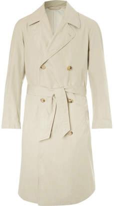 De Bonne Facture Cotton Ventile Trench Coat