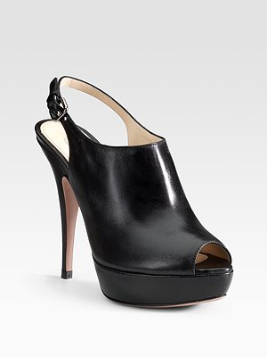 Prada Slingback Ankle Boots