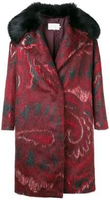 L'Autre Chose loose fitted coat