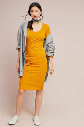 Three Dots Alma Ruched Petite Dress