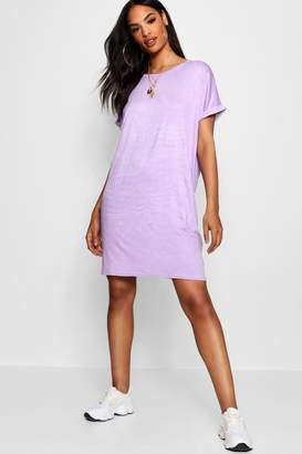 boohoo Tall Oversized T-Shirt Dress