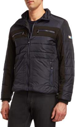 Vry Wrm Snow Cross Puffer Jacket