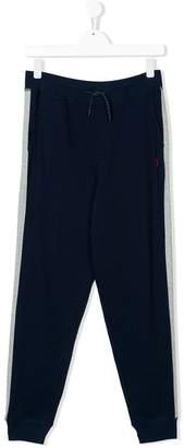 Ralph Lauren logo track pants