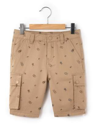 La Redoute Collections Print Bermuda Shorts, 3 - 12 Years