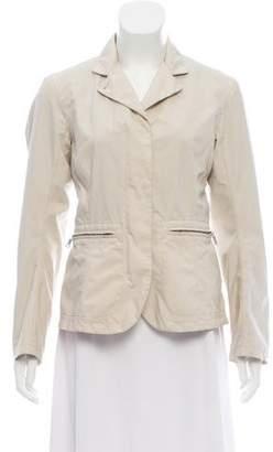 Prada Sport Notch-Collar Lightweight Jacket
