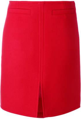 Courreges front slit skirt