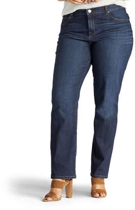 Lee Relaxed Fit Straight Leg Jeans - Plus
