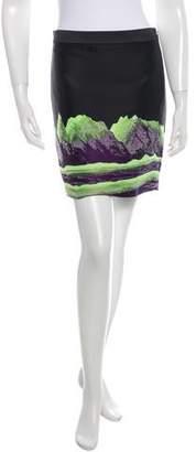 Alexander Wang 2016 Jacquard Mini Skirt
