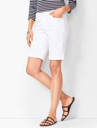 Talbots Girlfriend Jean Shorts - White