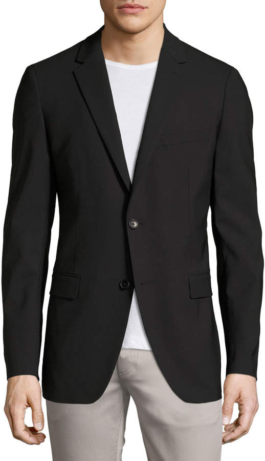 Theory Wellar New Tailor Blazer, Black 2