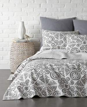 Levtex Home Constantinople Gray King Quilt and King Sham Set Bedding