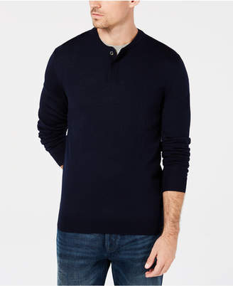 Club Room Men's Henley, Created for Macy's