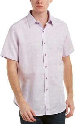 Robert Graham Bellerose Linen-Blend Classic Fit Woven Shirt
