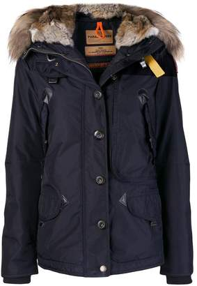 Parajumpers fur trim jacket