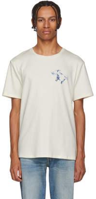 Acne Studios White Hippo Print T-Shirt
