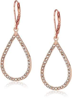 Anne Klein Tear Leverback Drop Earrings