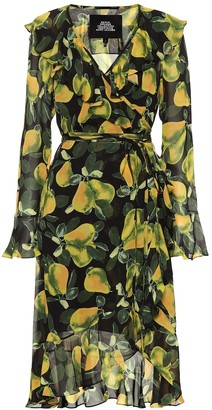 Marc Jacobs Printed crepe minidress