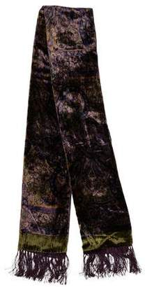 Ralph Lauren Boteh Print Silk-Blend Scarf