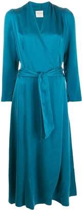 Forte Forte belted wrap dress