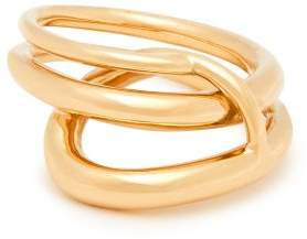 Charlotte Chesnais Fine Jewellery - Looping 18kt Gold Ring - Womens - Gold