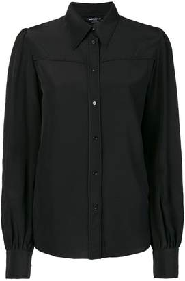 Rochas longsleeved button blouse