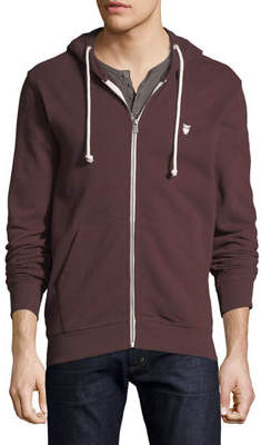 Knowledge Cotton Apparel Men's Basic Logo Long-Sleeve Hoodie