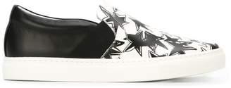 Lanvin 'Pull-On' slip-on star print sneakers