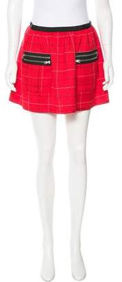 Anna Sui Patterned Mini Skirt