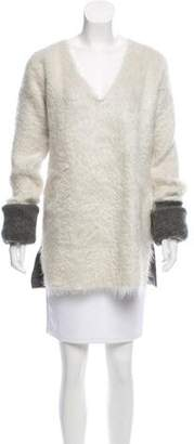 Celine Textured Knit Sweater
